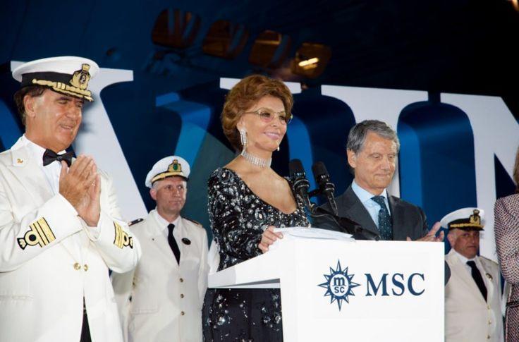 Le madrine delle navi da crociera, donne importanti per grandi navi
