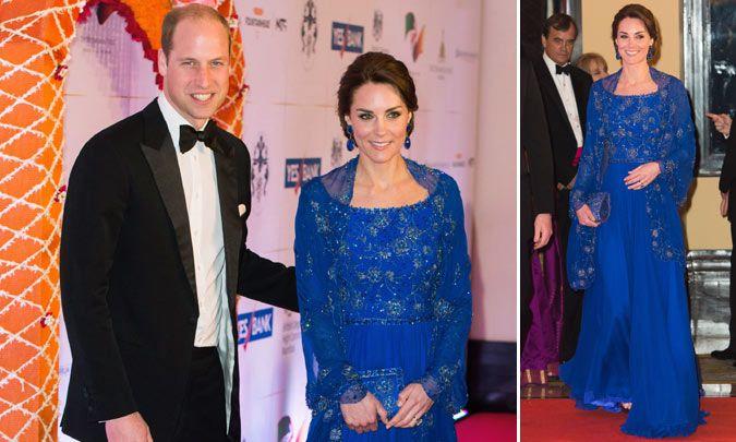Los Duques de Cambridge, estrellas de Bollywood por una noche