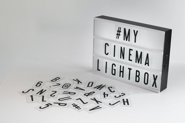 My cinema lightbox battery powered led - Lightbox amazon ...