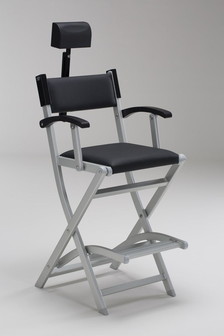 Portable makeup chair - Set Makeup Chair With Headrest For Makeup Artists