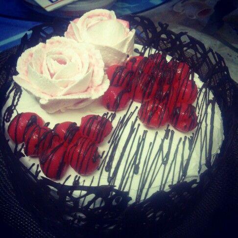 Black forest cake | Cakes | Pinterest | Black Forest Cake, Forest Cake ...