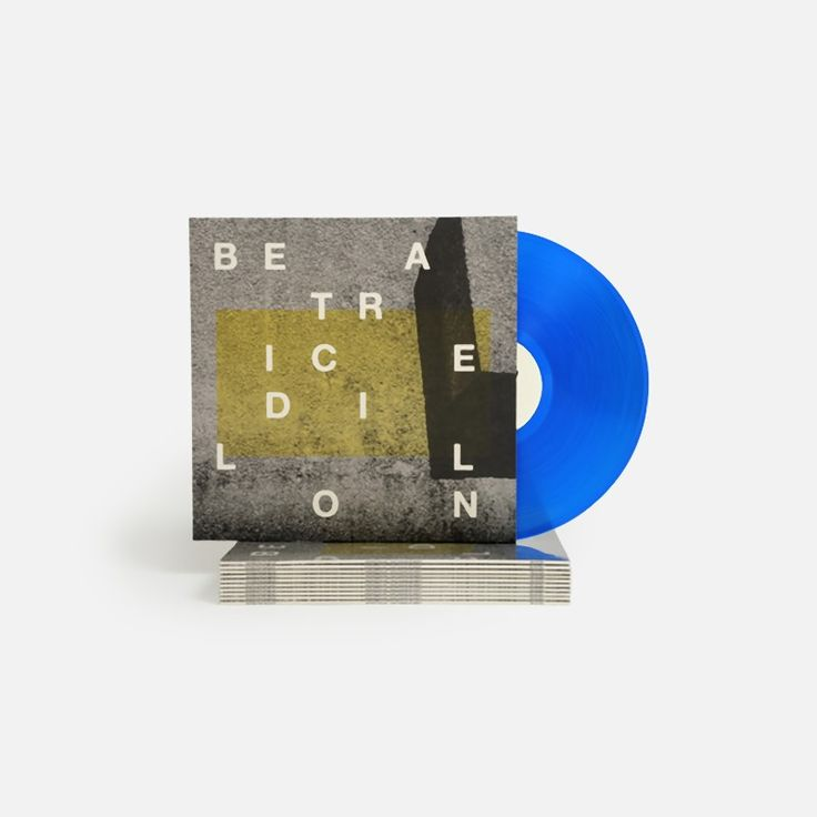 "Beatrice Dillon's ""Can I Change My Mind"" 12"" vinyl."