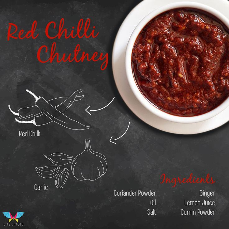 Red Chilli ( #Spicy ) #Chutney , Check out the ingredients you should use for this.