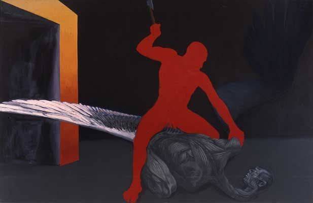Ryszard Woźniak, A Fallen Angel, 1988