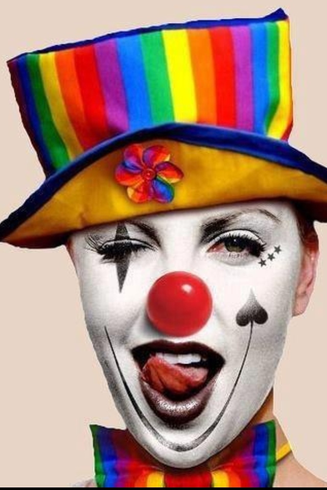 Not your typical clown!