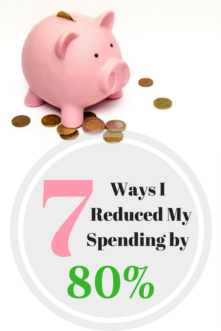 I reduced my spending from $1,600 down to $300. That's only 18.75% of what I was spending before. Put another way, I reduced my spending by more than 80%! A few small changes make all the difference.