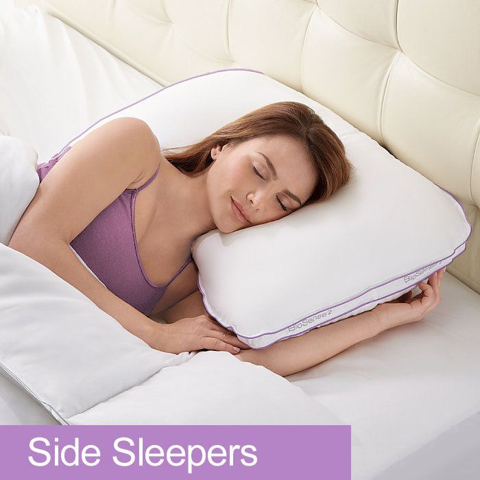 BioSense 2™ Shoulder Pillow for Side Sleepers - I have mild scoliosis and this pillow helps me get a great night's sleep!