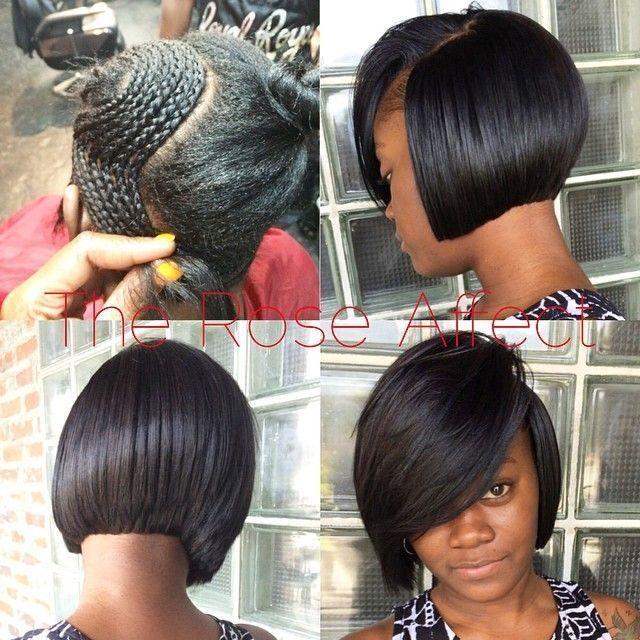 Lovely Style - http://www.blackhairinformation.com/community/hairstyle-gallery/weaves-extensions/lovely-style-2/ #weavesnadextentions