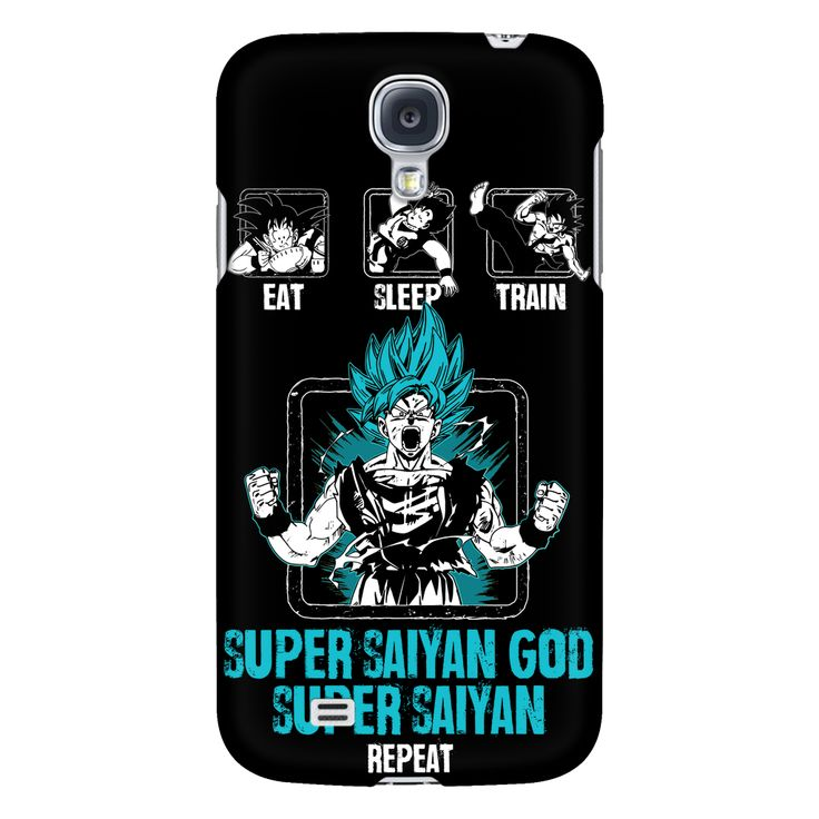 Super Saiyan God Goku Training android phone case - TL00044AD-BLACK