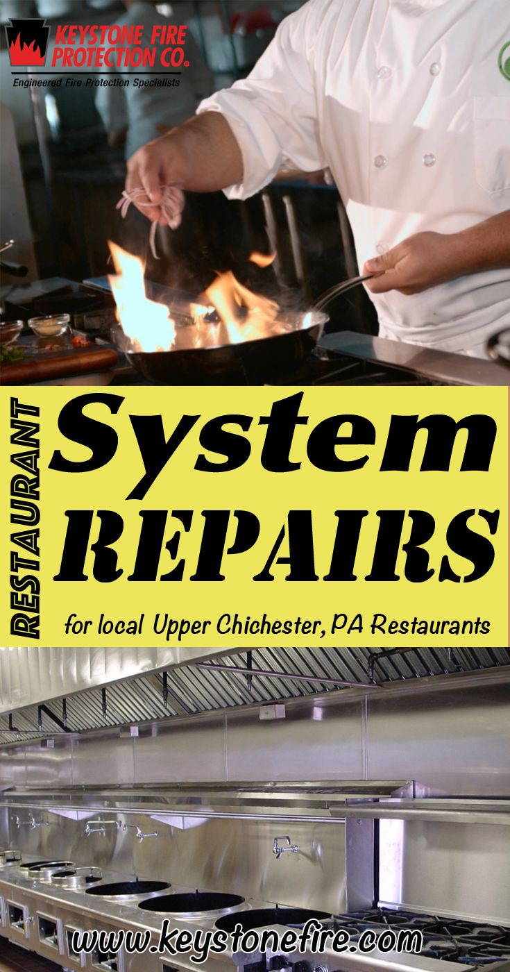 Restaurant System Repairs Upper Chichester (215) 641-0100.. Local Pennsylvania Restaurants you have found the complete source for Fire Protection. Fire Extinguishers, Restaurant System Service.. We're got you covered..