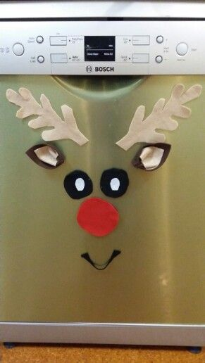 Rudolph on my dishwasher :-)