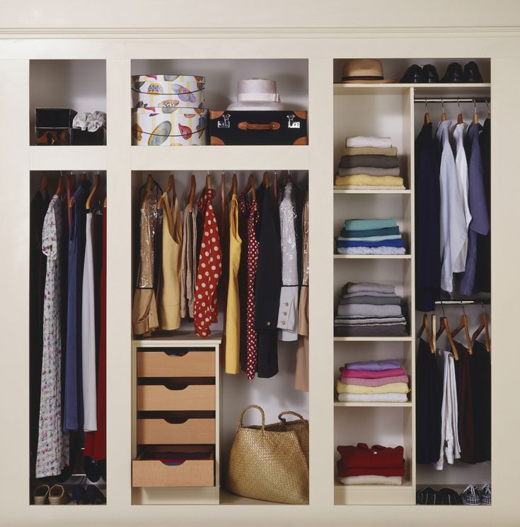 InStyle's 20 Best Closet Organizing Tips, Ever from InStyle.com