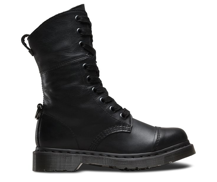 Our new Triumph boots for the season blend established biker culture with the influence of Buffalo style. Built for the girls, this 9-Eye Toe Cap Boot has the option of ribbon laces and gold finish eyelets, using a D-ring to attach the folded down upper to the rear of the ankle. Whether you wear them up or down, these boots are designed to let your style stand up.