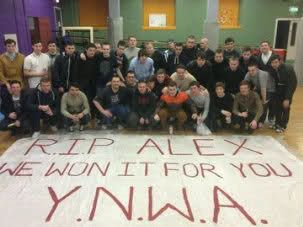 RIP Alex: We won it for you