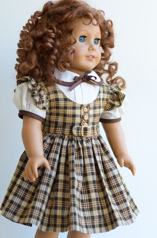 1030-40s School Jumper and Blouse-American Girl