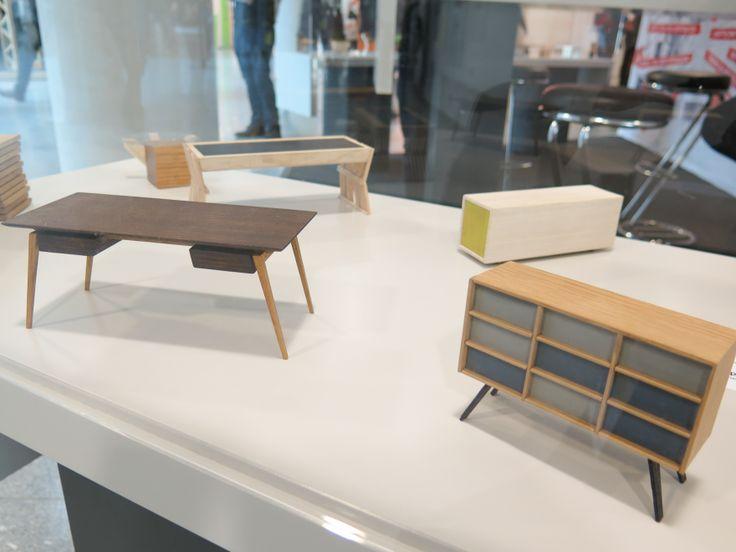 Hier sind einige süße deutsche Handwerks- / Designstudentenarbeiten von Holz-Handwerk – Core …