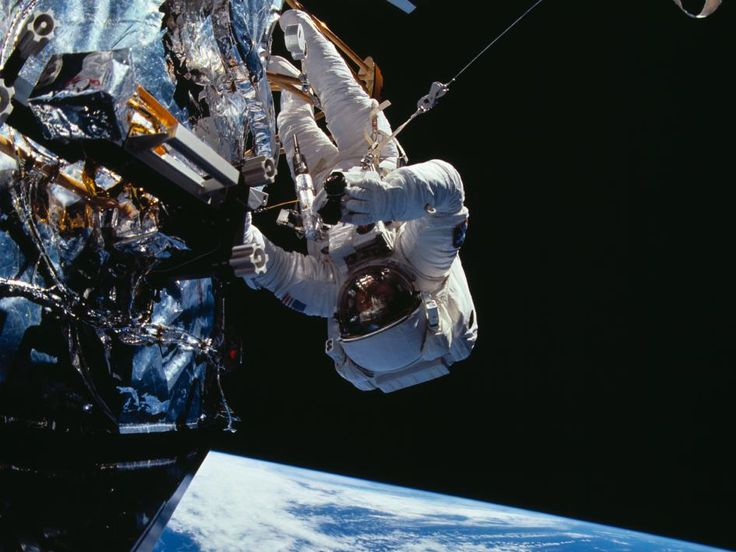 9 December 1993 Astronauts put Hubble back in action. A record-breaking mission to repair the faulty Hubble telescope in outer space is declared an unqualified success.