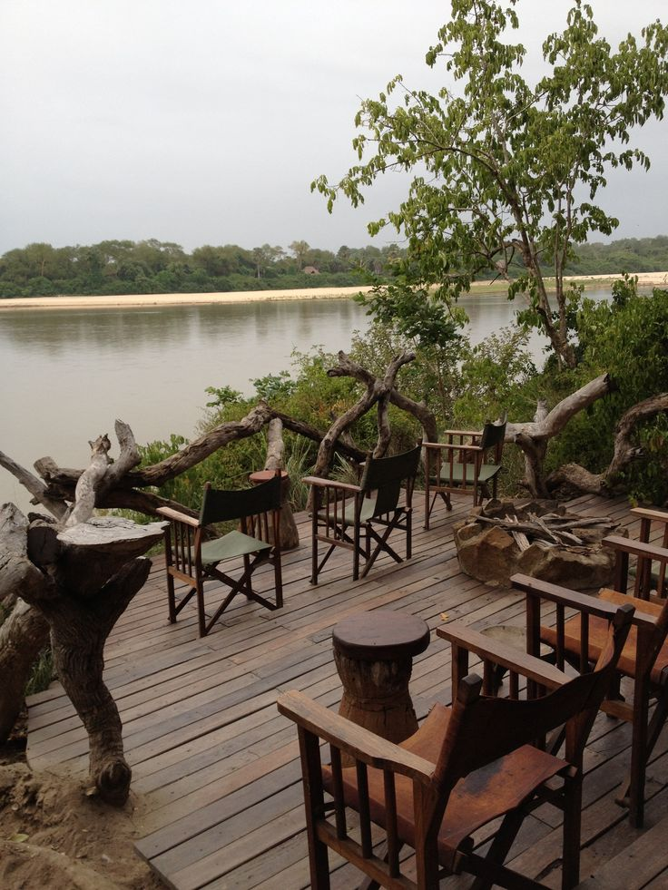 Relax on the river -Tanzania