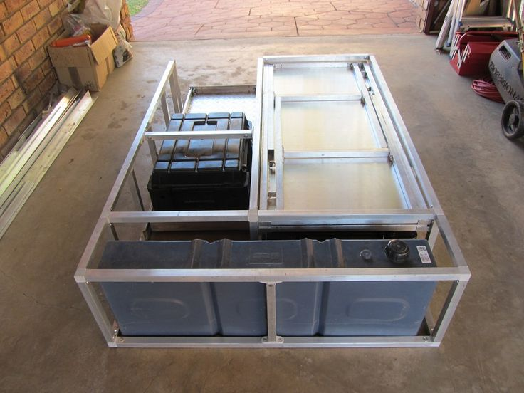 Diy Hilux D C Drawer System Van Items Truck Bed