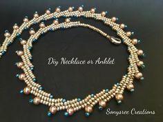 YouTube beautiful beaded necklace