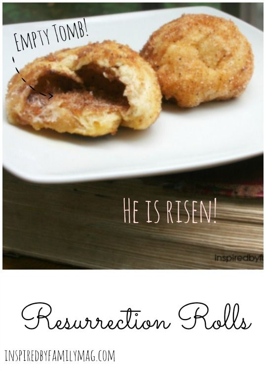 Easter Activity: Resurrection Rolls--Absolutely delicious!