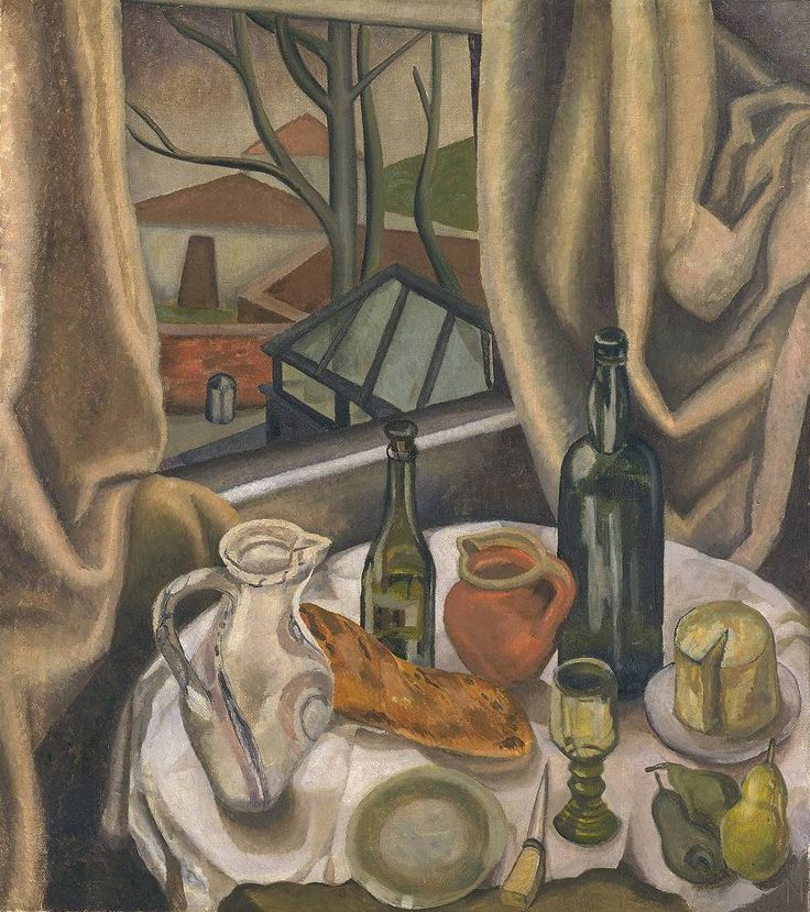 Sylvia Melland 'Still Life with an Open Window', 1931 © Estate of Sylvia Melland