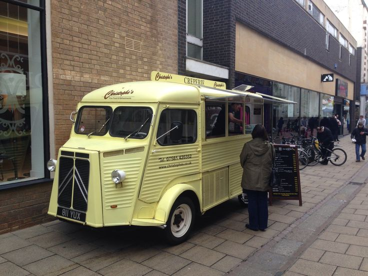 design concept for food truck street food in norwich