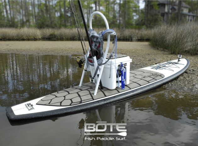 Paddle Board Accessories For Fishing On A Sup Stand Up