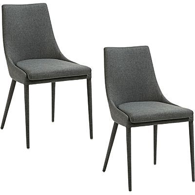 $245 each Benito Fabric Dining Chair (Set of 2)