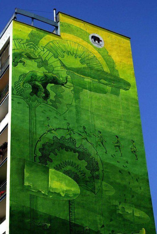 "Anna Taut, Michal Wegrzyn y Xoto ""Green"""