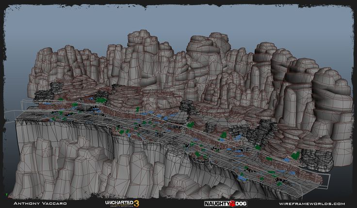Uncharted 3 - Environment Art Dump - Anthony Vaccaro - Polycount Forum