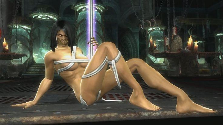 "Mortal Kombat 9 Komplete Edition - Jade ""Stripper Pole"" Victory Pose *Al..."