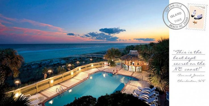Ocean Isle Beach NC Hotels - The Winds Resort Beach Club Oceanfront Hotel - North Carolina Hotels and Vacation Rentals - A Tropical Escape... Closer Than You Think!