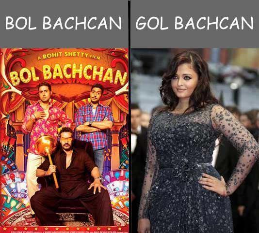 Bol bacchan and Gol bachchan