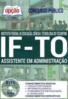 NewsApostilas : Apostila Concurso IFTO 2016 (ATUALIZADA)