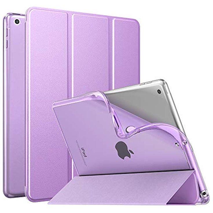 MoKo Dünne TPU Hülle für Neu iPad 10.2 2019 Smart Case Schutzhülle mit weich…