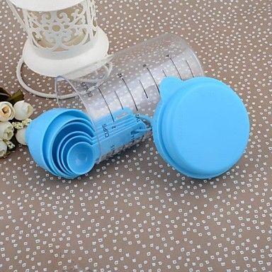 EUR € 10.88 - Plástico Ambiental Copa Spoon Set taza de medición 500ML cuchara dosificadora, ¡Envío Gratis para Todos los Gadgets!