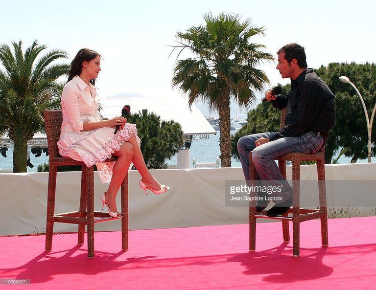 Photo d'actualité : Marie Gillain and Bernard Montiel during 2006...