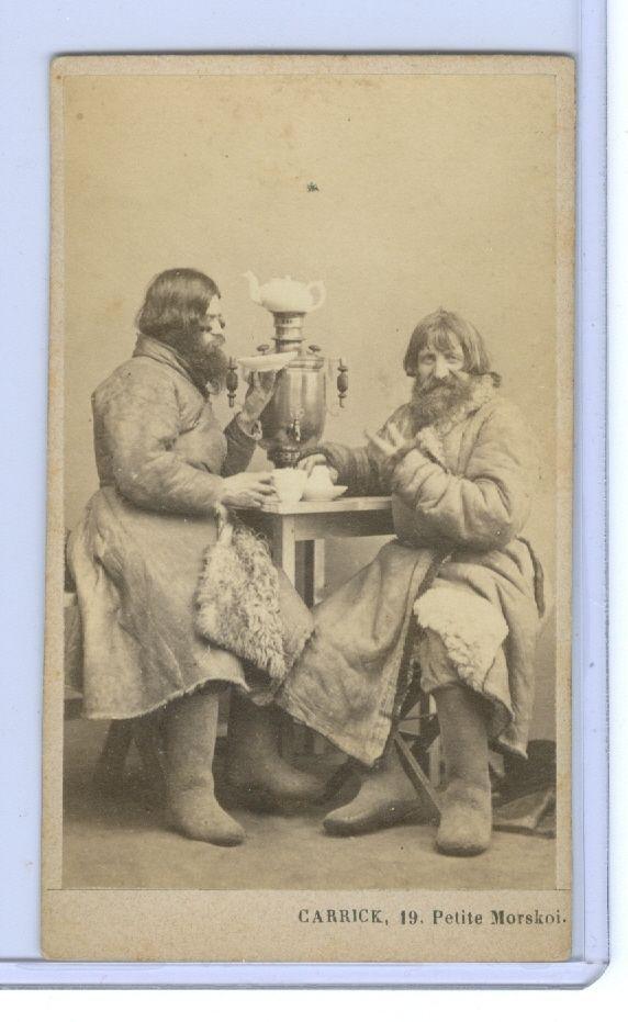 A Carte de Viste of Russian Peasants by William Carrick Photographer | eBay