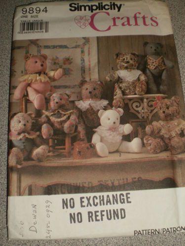"Stuffed Teddy Bears 15"" 18"""