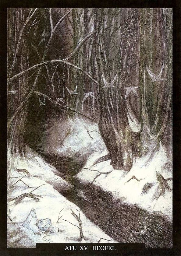 Image result for sinister tarot cards