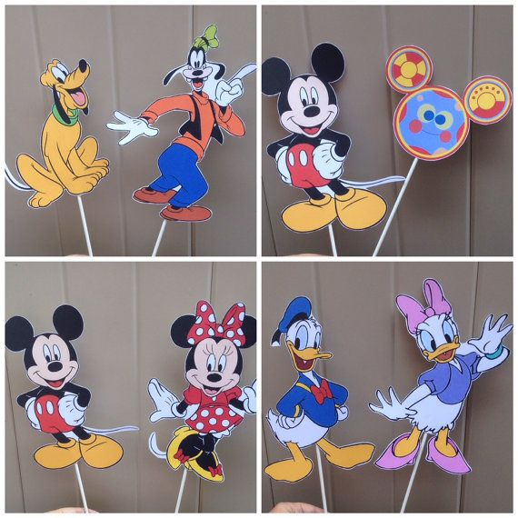 Hey, I found this really awesome Etsy listing at https://www.etsy.com/listing/196520458/mickey-mouse-clubhouse-diy-centerpiece