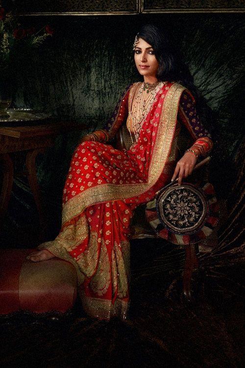 Ritu Kumar sari