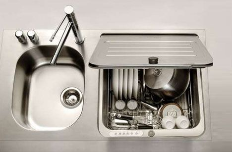 Dishwasher Designed To Slot In The Area Of A Kitchen Sink. Excellent For Residence…