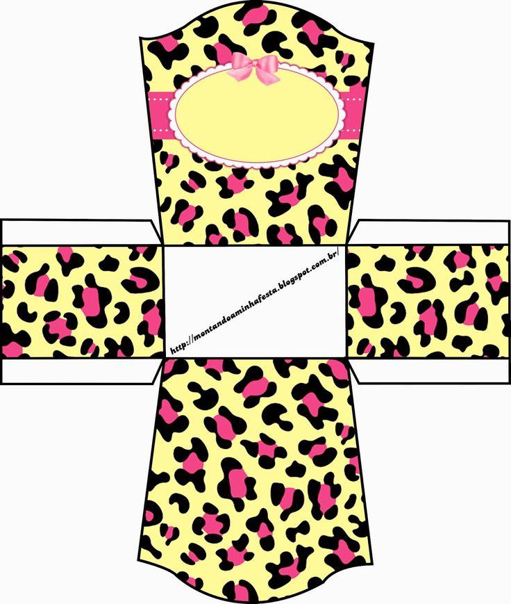 Kit para impressão Oncinha Rosa