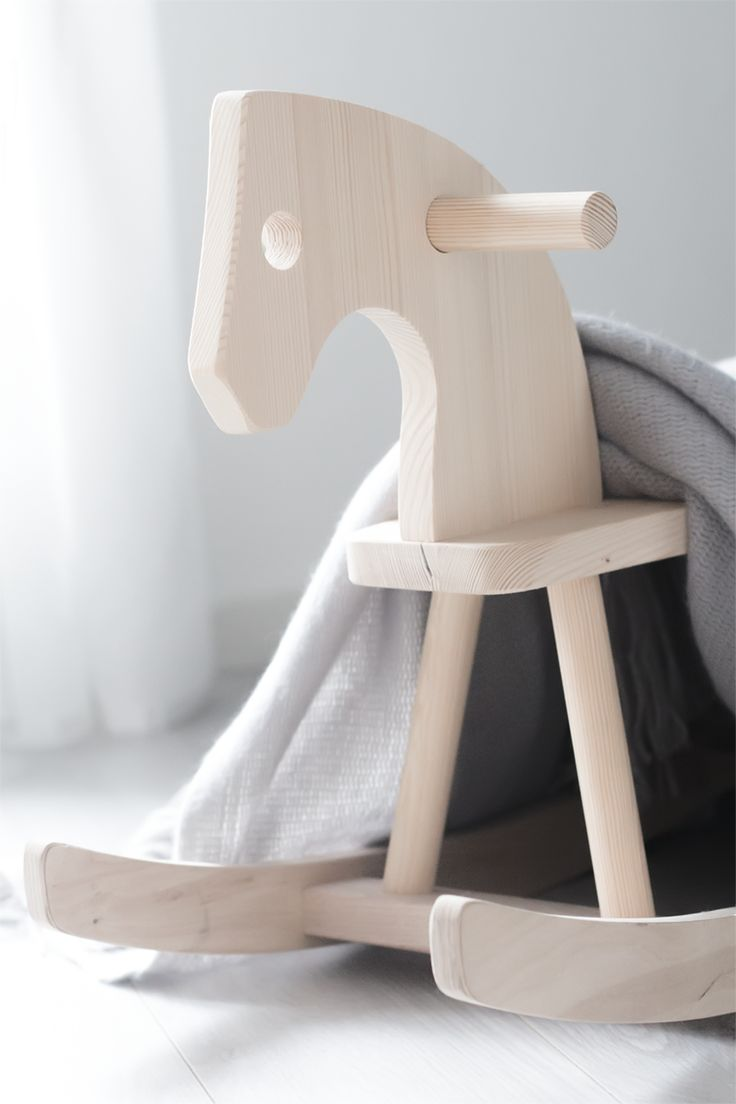 | MODERN + KID | ROCKING-HORSE | My White Obsession
