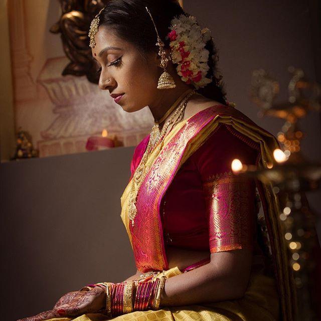 Here's the final image of beautiful Gobika, following on from yesterday's #behindthescenes photo. . . Make-up by @gatherandstitch_beauty , hair by Radha . . . #thecrimsonbride #TCBPro #Indian #Indianwedding #Sydney #wedding #sari #love #bride #groom #mehndi #henna #weddingphotography #weddinginspiration #couple #australia #weddingdress #weddingphotography #igers #instadaily #weddingphotographer #picoftheday #photooftheday #southindianwedding #southindianbride #tamilwedding #thali