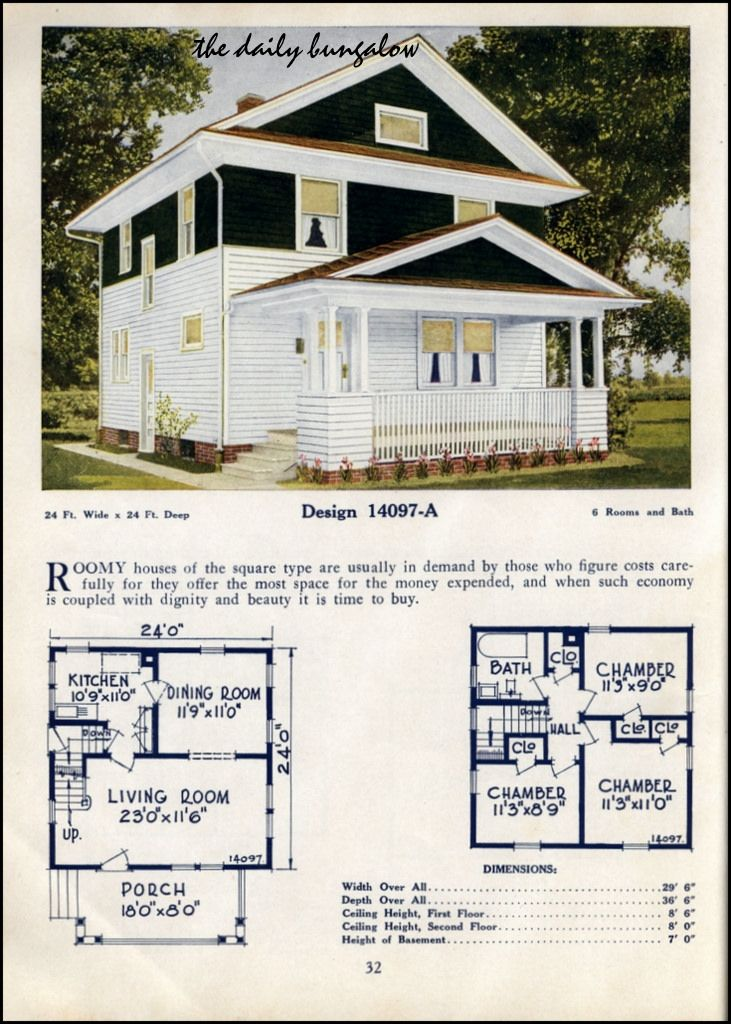 853 best small house plans images on pinterest small for 1925 bungalow floor plan