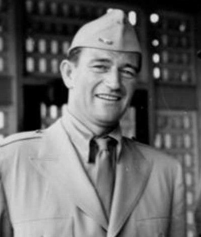 John Wayne - (Actor, director and producer) I know this is some what blurry, but I'll take it anyway.