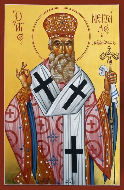 """Nektarios once appeared to a most-pious cleric and complained: """"It's as if we Saints are in retirement...The people don't pray to us, don't ..."""